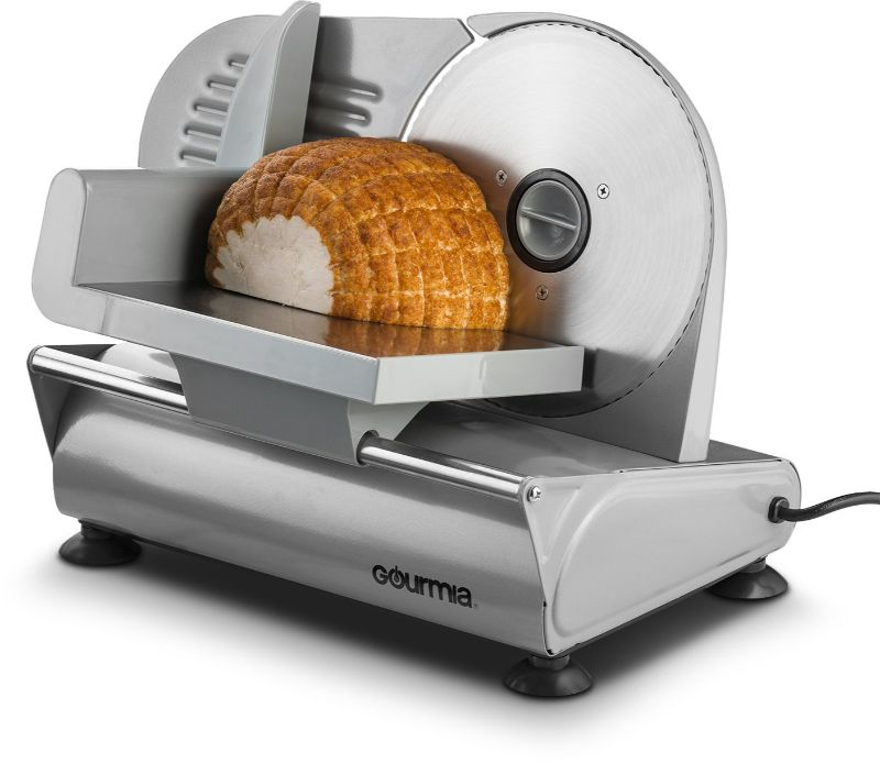 Gourmia GFS700 Professional Electric Power Food & Meat Slicer