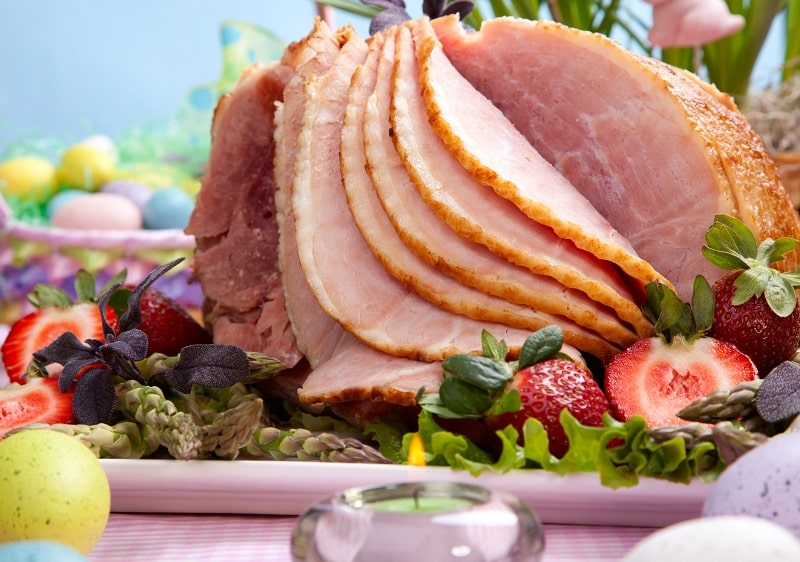 How to slice ham thinly at home