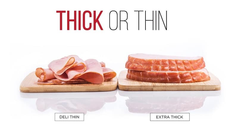 how thin can home meat slices cut