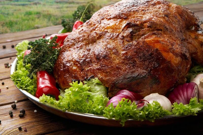 internal cooking temperature of pork shoulder