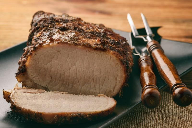 internal cooking temperature of pork tenderloin