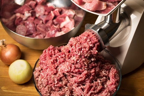 ground meat for hamburger