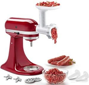 stand attachment meat grinder
