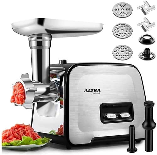 ALTRA Electric Meat Grinder for grinding cooked meat
