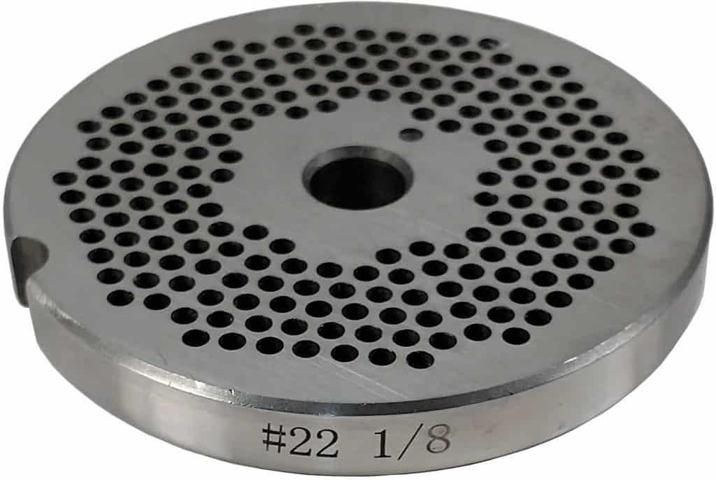 meat grinder plate