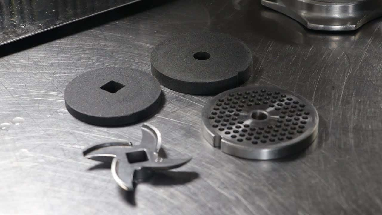 How to sharpen meat grinder blades
