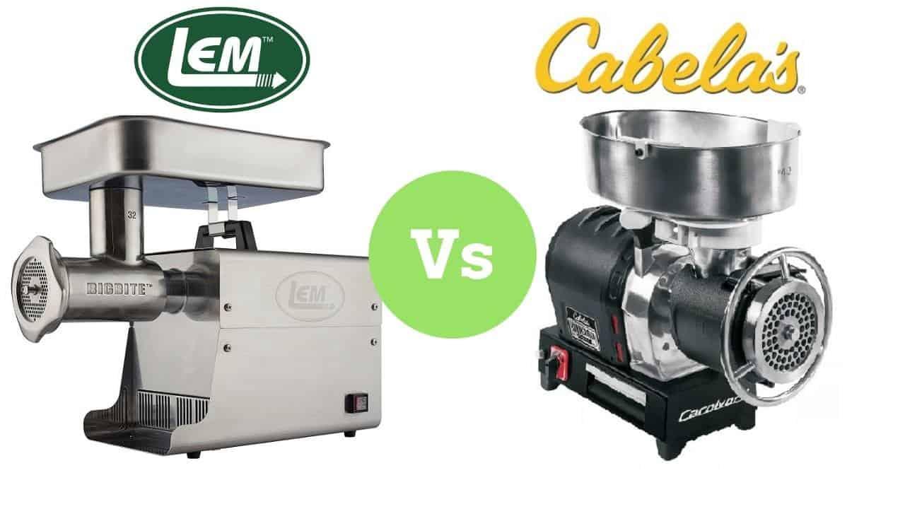 Lem vs Cabelas Meat Grinders