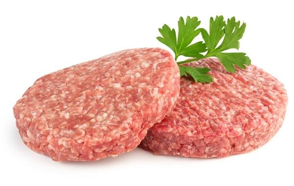 hamburger patties